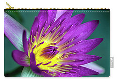 Lily On The Water Carry-all Pouch