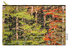 Lily Pad Abstract II Carry-all Pouch