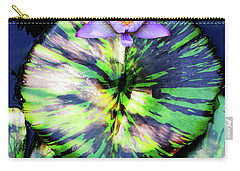 Lily Pad And Lily Carry-all Pouch