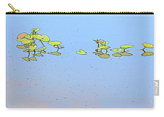 Lily Pad Glow Carry-all Pouch