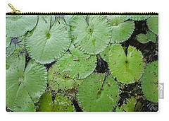 Lily Pad Plethora Carry-all Pouch