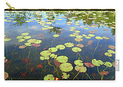 Lily Pads And Reflections Carry-all Pouch