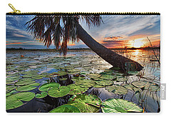 Lily Pads And Sunset Carry-all Pouch