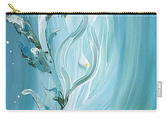 Carry-all Pouch featuring the painting Lily by Pat Purdy