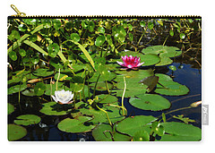 Carry-all Pouch featuring the photograph Lily Pond by Glenn McCarthy Art and Photography
