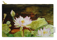 The Lily Pond - Painting  Carry-all Pouch