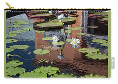 Lily Pond Reflections Carry-all Pouch