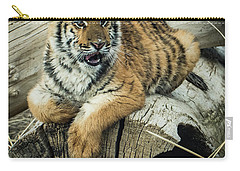 Lily Tiger 4534 Carry-all Pouch by Janis Knight