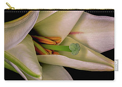 Lily White Carry-all Pouch by Roy McPeak