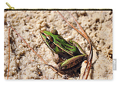 Carry-all Pouch featuring the photograph Lime-like by Al Powell Photography USA