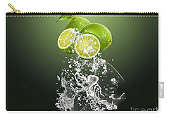 Lime Splash Carry-all Pouch