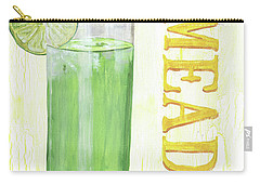 Carry-all Pouch featuring the painting Limeade by Debbie DeWitt