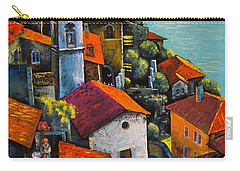 Limone Del Garda Carry-all Pouch