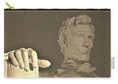 Lincoln Head And Hand Carry-all Pouch