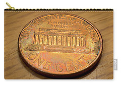 Lincoln Penny Carry-all Pouch