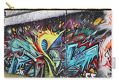 Carry-all Pouch featuring the painting Lincoln Street by Sheila Mcdonald