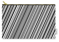Carry-all Pouch featuring the digital art Lines 7 Diag by Bruce Stanfield