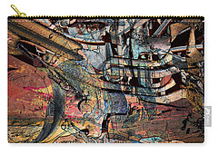 Lines And Colors Carry-all Pouch by Don Gradner
