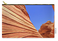 Carry-all Pouch featuring the photograph Lines by Chad Dutson