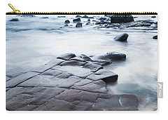 Carry-all Pouch featuring the photograph Lines In The Rocks by Parker Cunningham