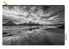 Lines In The Sand At Seal Rock Carry-all Pouch