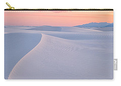 Carry-all Pouch featuring the photograph Lines In The Sand by Patricia Davidson