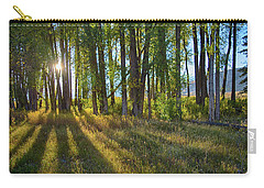 Carry-all Pouch featuring the photograph Lines by Mary Hone