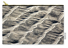 Lines On The Beach Carry-all Pouch