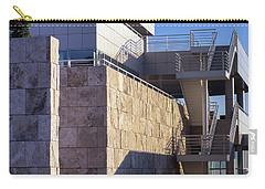 Carry-all Pouch featuring the photograph Lines, Shadows And Textures by Samuel M Purvis III