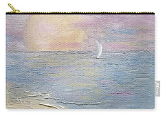 Carry-all Pouch featuring the painting Lingering Freedom by Judith Rhue