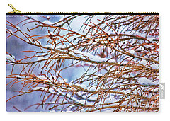 Lingering Winter Snow Carry-all Pouch