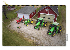 Lining Up The Tractors Carry-all Pouch