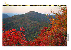 Carry-all Pouch featuring the photograph Linville Gorge by Kathryn Meyer