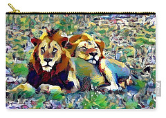 Lion Buddies Carry-all Pouch