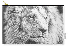 Fluffy Lion Carry-all Pouch