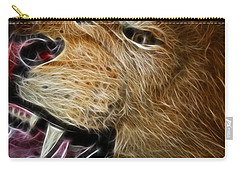 Lion Fractal Carry-all Pouch