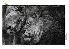 Lion In Love 2 Carry-all Pouch