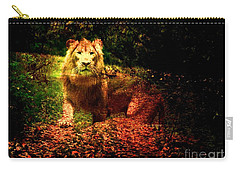 Lion In The Wilderness Carry-all Pouch