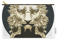 Lion Knocker Carry-all Pouch