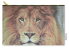 Lion Of Judah  Carry-all Pouch