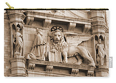 Lion Of Venice With The Doge Carry-all Pouch
