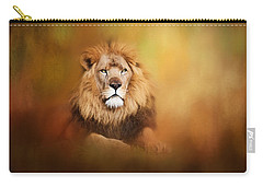 Lion - Pride Of Africa I - Tribute To Cecil Carry-all Pouch