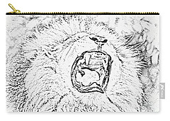 Lion Roar Drawing Carry-all Pouch