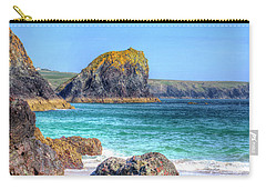 Lion Rock From Kynance Cove Carry-all Pouch