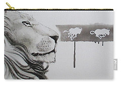 Lion Tears Carry-all Pouch