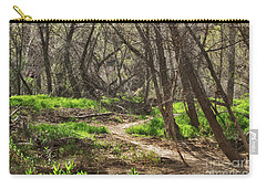 Lion Trail At Hassayampa Nature Reserve Carry-all Pouch by Anne Rodkin