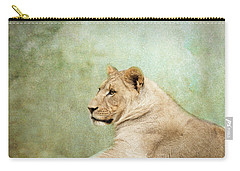 Lioness Portrait II Carry-all Pouch