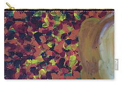 Carry-all Pouch featuring the painting Lioness' Pride 2 Of 6 by Donald J Ryker III