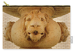Lions All Around Carry-all Pouch by Mary Ellen Frazee