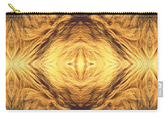 Lion's Eye Carry-all Pouch by Maria Watt